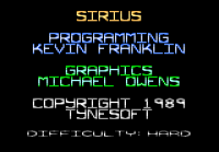 Sirius - Screenshot