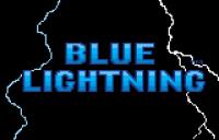 Blue Lightning Demo Card - Screenshot