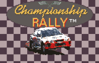 Championship Rally - Screenshot