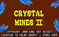 Crystal Mines II - Screenshot