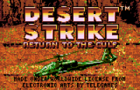 Desert Strike - Screenshot
