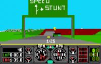 Hard Drivin' - Screenshot