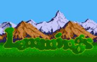 Lemmings - Screenshot