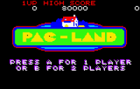 Pac-Land - Screenshot